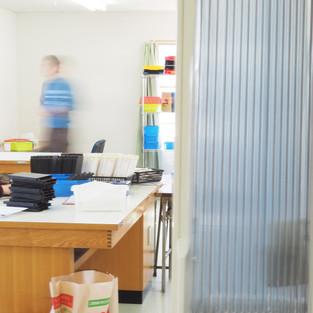 二階作業室