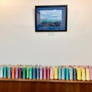色彩豊かなシルク糸