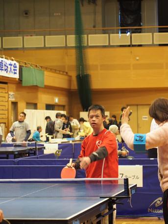 卓球大会参加