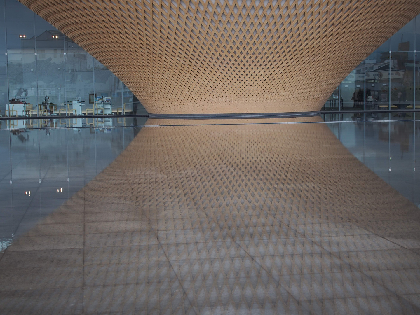 世界遺産富士の建物