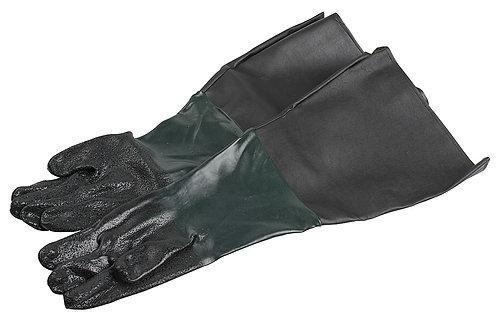 Hiekkapuhalluskaapin hanskat