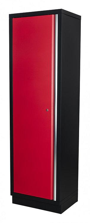 Säilytyskaappi (punainen/musta)