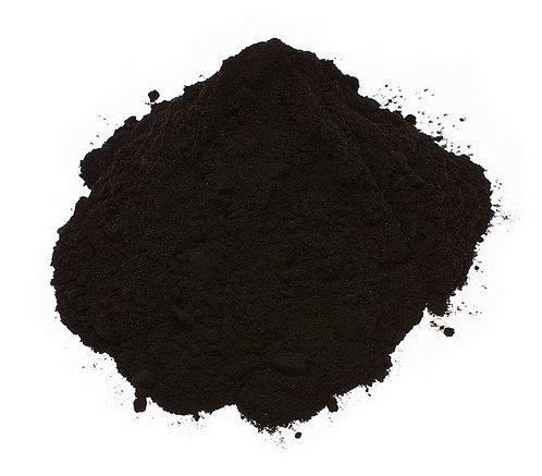 Jauhemaali,  musta kiiltävä, 1kg