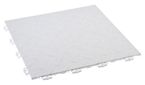 Lattialaatat, valkoinen 2m²