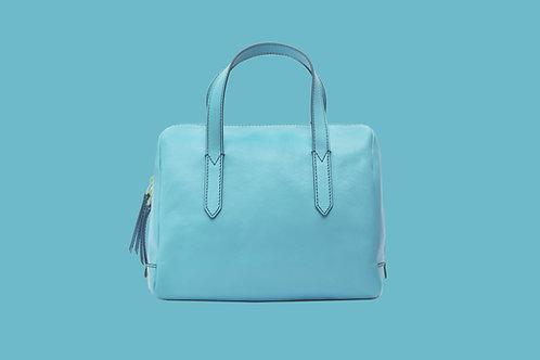 Large Blue Hand Bag