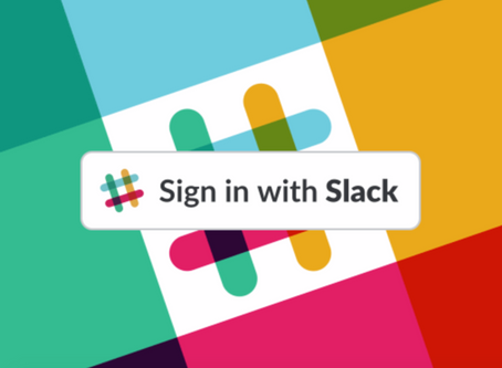 Registering with Slack for more login flexibility and collaboration