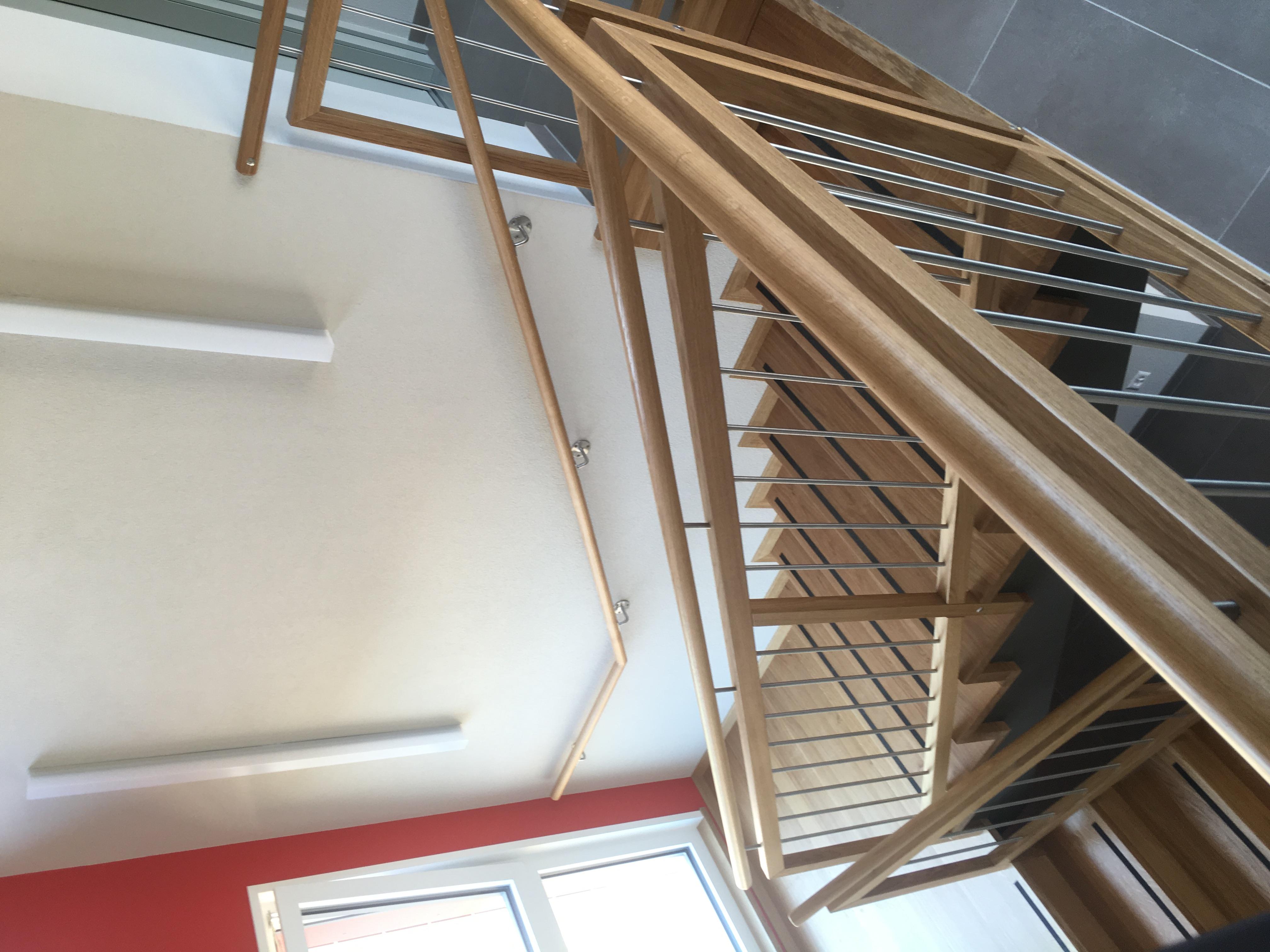 Escalier en chêne Courgenay