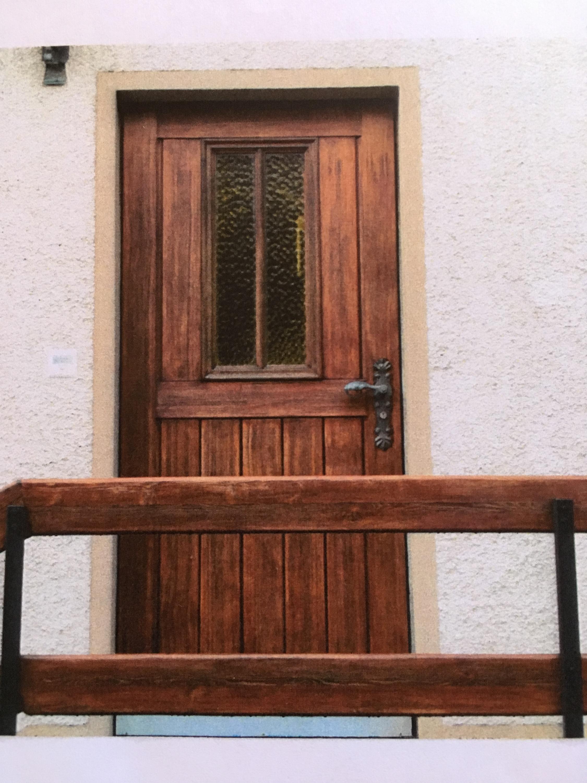 Porte d'entrée avant remplacement