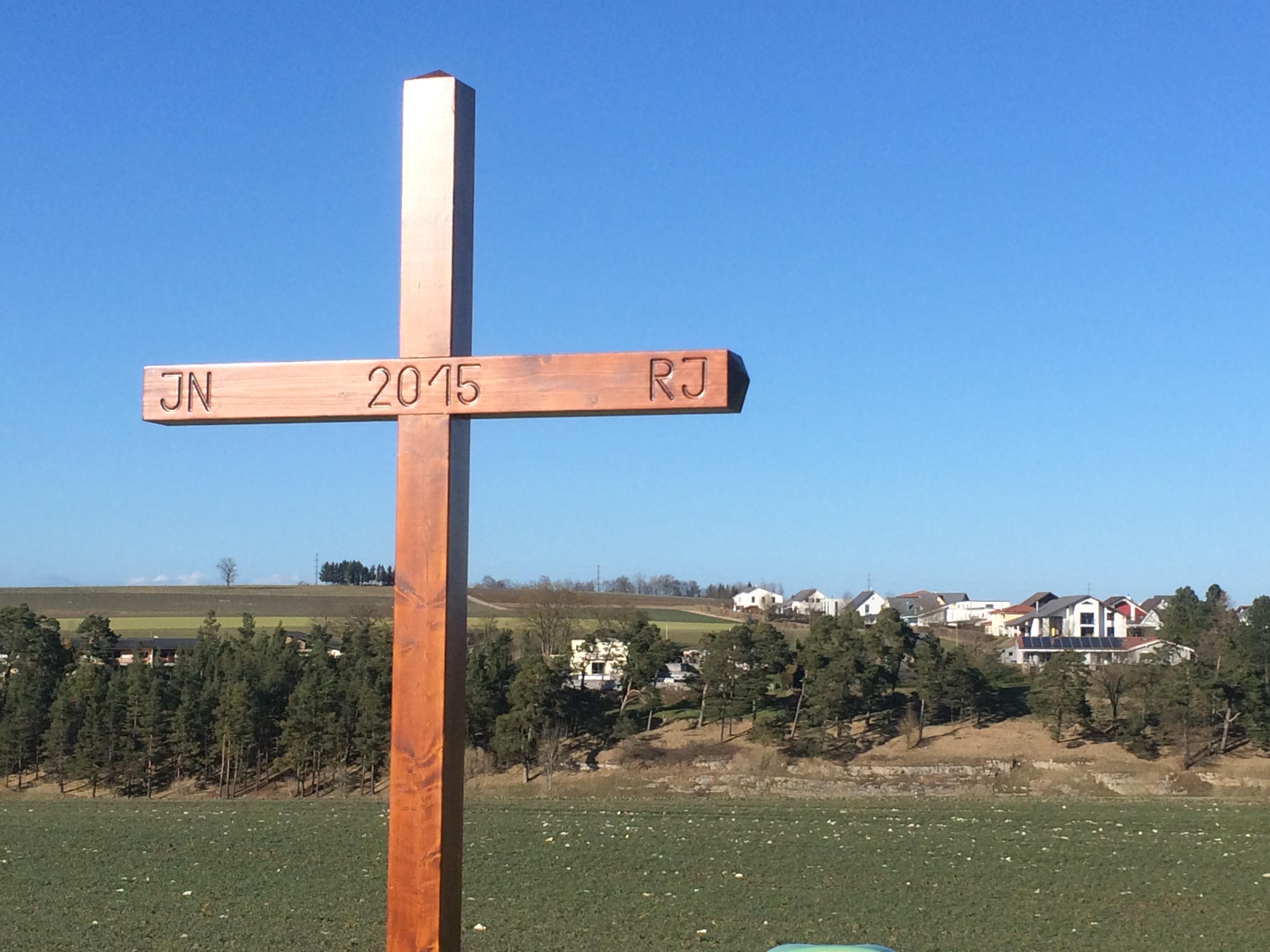 Fabrication d'une croix de rogation