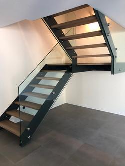 Escalier bois_métal