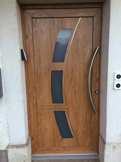 Porte d'entrée PVC Winschester