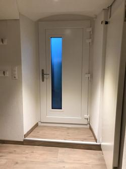 Porte bicolor blanc intérieur