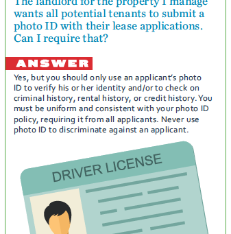 Okay to ask for a photo ID?