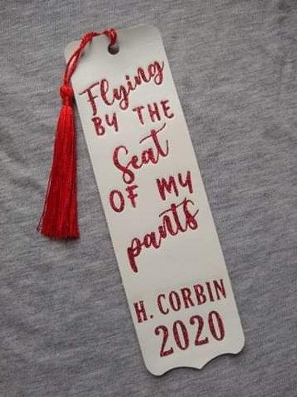 Commemorative bookmark