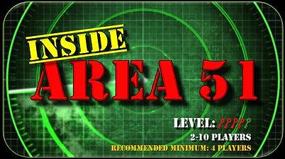 Inside Area 51 Escape Room