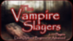 Vampire Slayers Button With Red Border.J