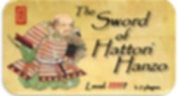 The Sword of Hattori Hanzon - Back In Time Escape Rooms