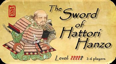 Sword of Hattori Hanzo Escape Room