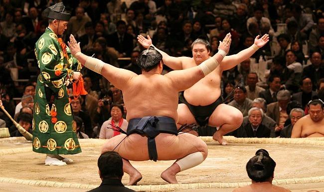 A Sumo Wrestling