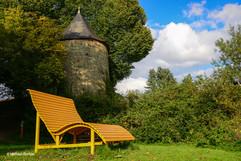 Hexenturm an der Stadtmauer