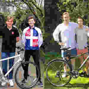 Team I: Luke & Antoine; Team II: John & Aloys