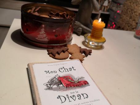 """Le livre """"Mon chat sur le divan"""" d'Anne-Claire Gagnon"""