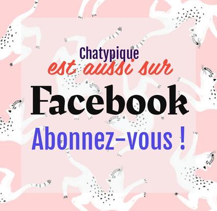 CHATYPIQUE sur Facebook et même sur Instagram !