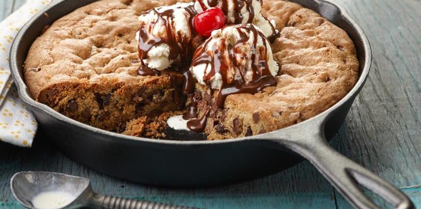 Best Ever Skillet Cookie