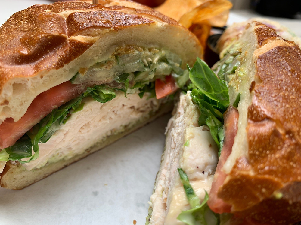 The Crunchy Chicken Sandwich from Local Foods