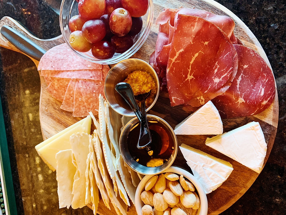 Cheese and Charcuterie at Permission