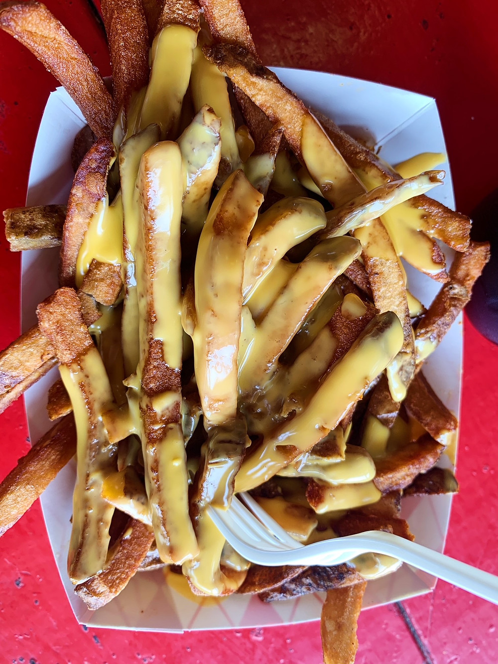 Cheese fries from Hubcap Grill