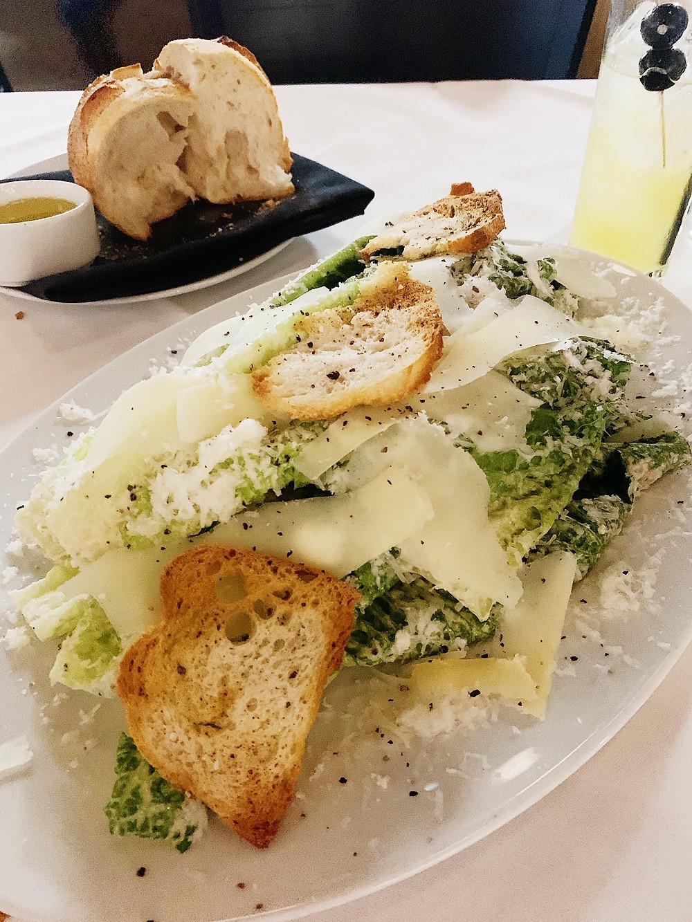 The GJ Caesar Salad