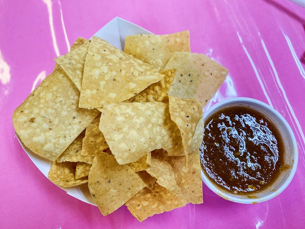 Dona Maria chips and salsa