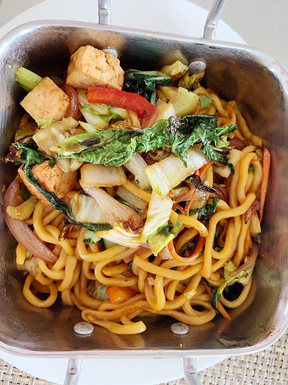 Yakisoba Stir-Fried Noodles at Pescado