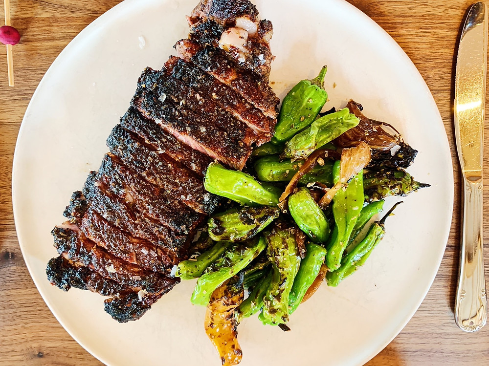 Steak Fiorentina at Rosie Cannonball