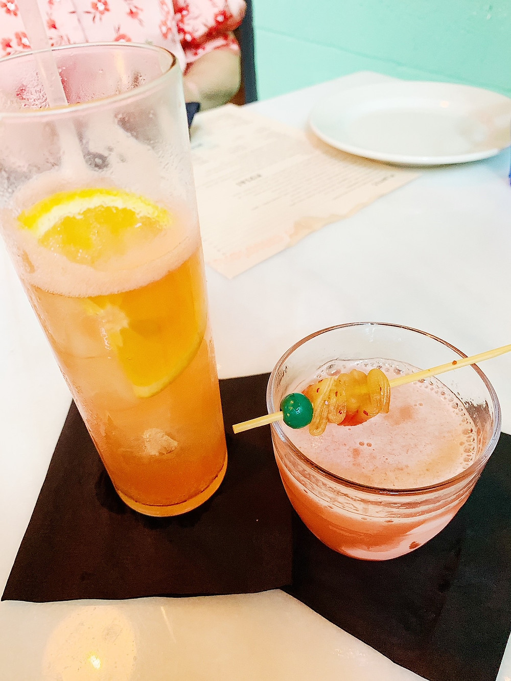 Cocktails at Tiny Champions