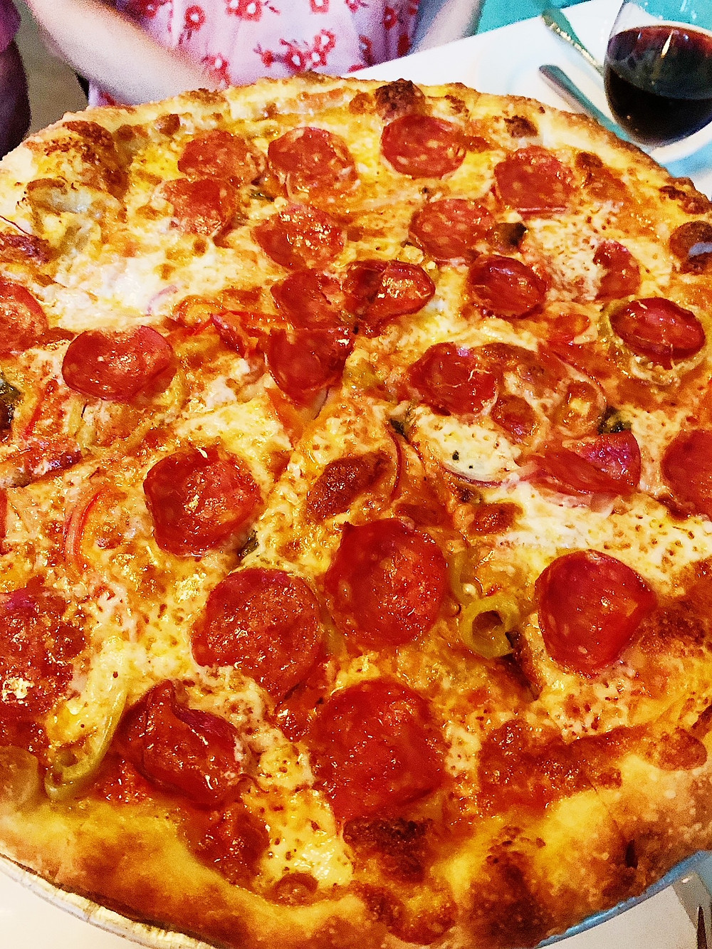 Pizza at Tiny Champions