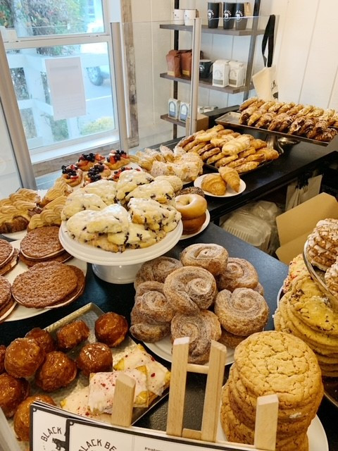 Pastries at Black Bear Bread Co.