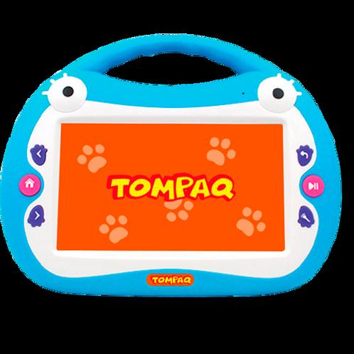 Көк түсті интерактивті балалар планшеті