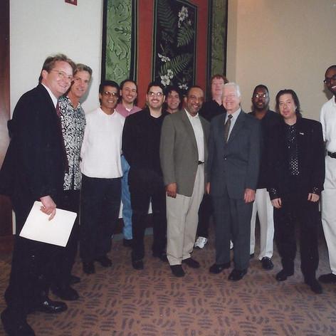 Grover Washington Jr Band, President Jimmy Carter