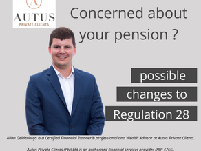Possible changes to Regulation 28
