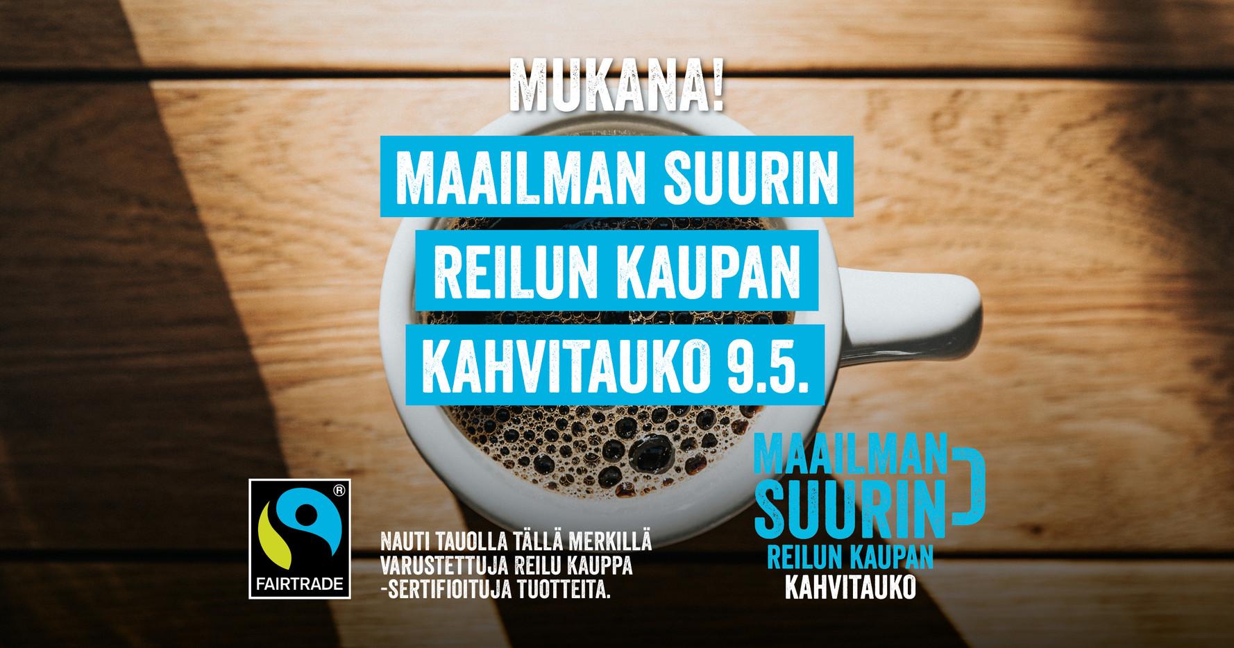 Maailman suurin Reilun kaupan kahvitauko