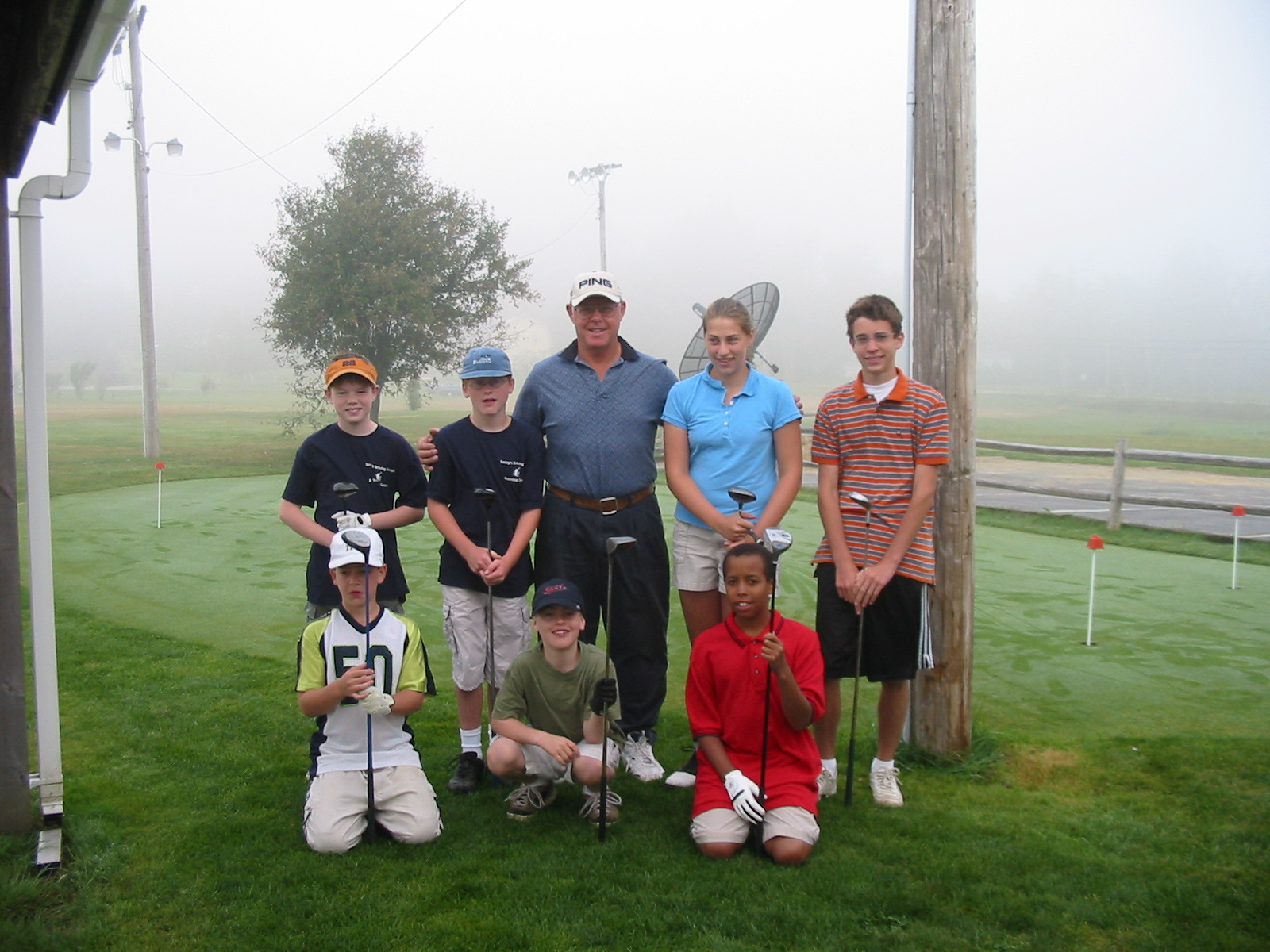 Maine kids golf