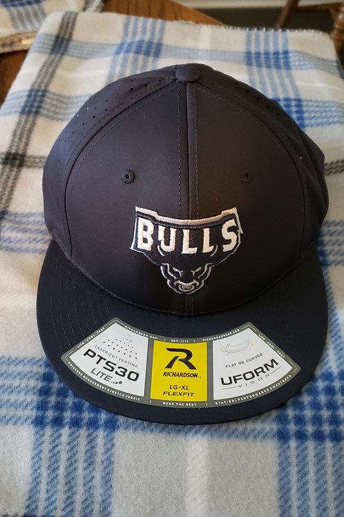 Fitted Bull Logo Ball Cap