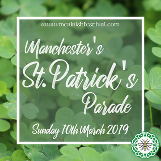 The Manchester St. Patrick's Parade 2019