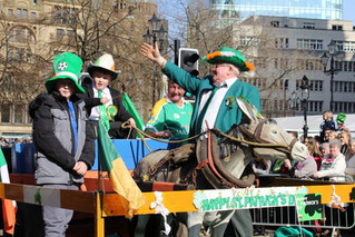 Manchester St Patrick's Parade Running Order 2020