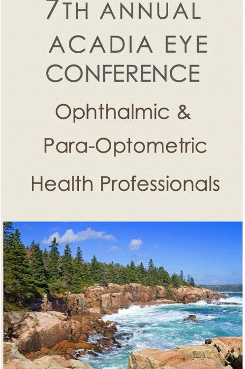 2021 Acadia Eye Conference 10-16-21