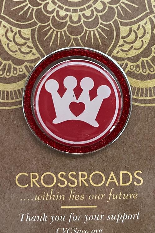 Crown CARES Sash or Lapel pin