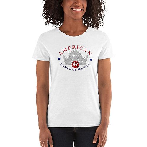 AWOS Women's short sleeve t-shirt