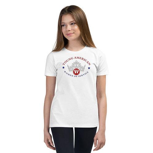 YAWOS-CC Short Sleeve T-Shirt logo